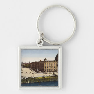 View of Berlin at the turn of the century Keychains