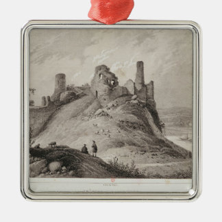 View of Berwick Castle Christmas Ornament