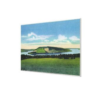 View of Bluff Point near Penn Yan Canvas Print