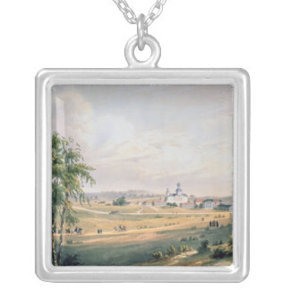 View of Borodino, location of the decisive Silver Plated Necklace