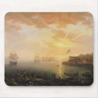 View of Brest Harbour, 1796 Mouse Mat