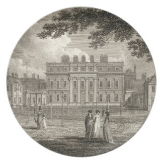 View of Buckingham House, engraved by W. Knight, p Plate
