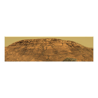 View of Burns Cliff on Mars Art Photo
