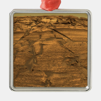 View of Burns Cliff on Mars Christmas Ornament