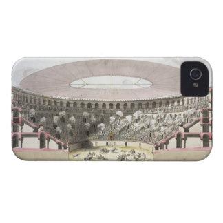 View of Caesar's Amphitheatre (colour litho) iPhone 4 Case-Mate Cases