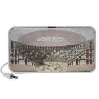 View of Caesar's Amphitheatre (colour litho) Laptop Speaker
