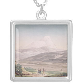 View of Cajambe Silver Plated Necklace