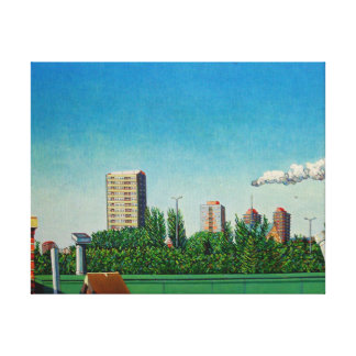 View of Canning Town Canvas Print