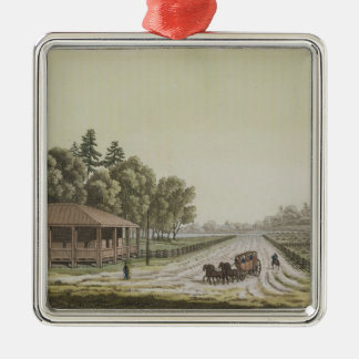 View of Capitol Hill, Washington (colour engraving Christmas Ornament