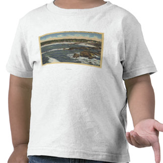 View of Carmel Bay from Scenic Drive Tee Shirts