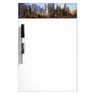 View of Cathedral Peaks Dry Erase Board