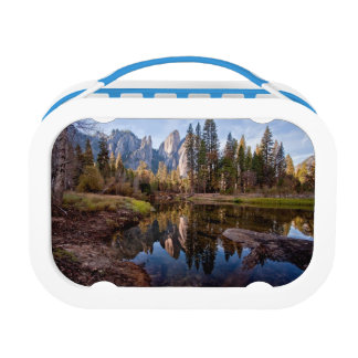 View of Cathedral Peaks Lunch Box