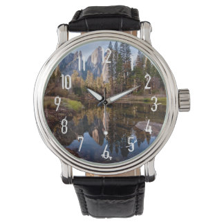 View of Cathedral Peaks Wristwatch