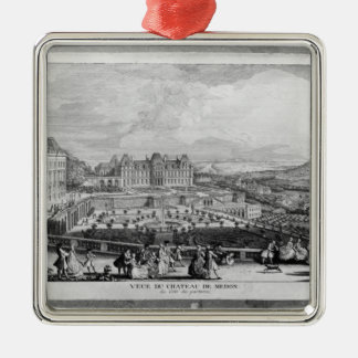 View of Chateau de Meudon Christmas Ornament