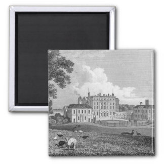 View of Chevening Place, engraved by S. Lacy Magnet