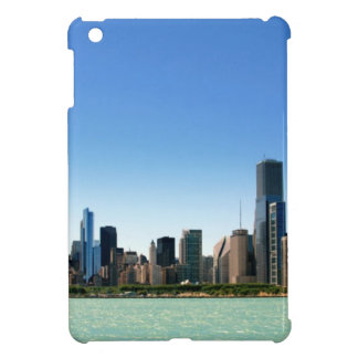 View of Chicago skyline by Lake Michigan Case For The iPad Mini