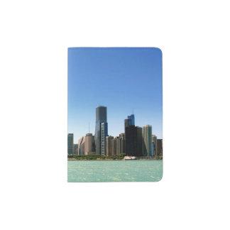 View of Chicago skyline by Lake Michigan Passport Holder