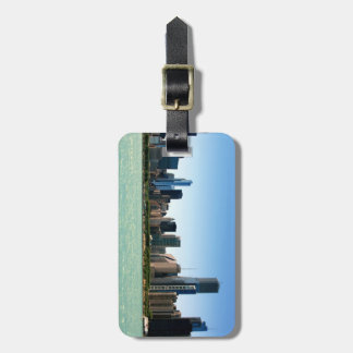 View of Chicago skyline by Lake Michigan Tag For Bags