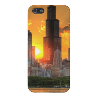 View of Chicago's skyline from  Adler Case For iPhone 5/5S