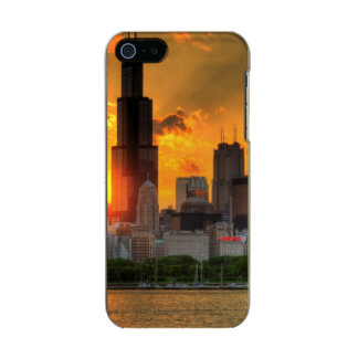View of Chicago's skyline from  Adler Incipio Feather® Shine iPhone 5 Case