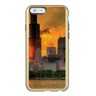 View of Chicago's skyline from  Adler Incipio Feather® Shine iPhone 6 Case