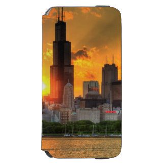 View of Chicago's skyline from  Adler Incipio Watson™ iPhone 6 Wallet Case