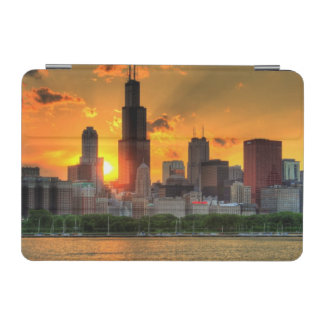 View of Chicago's skyline from  Adler iPad Mini Cover