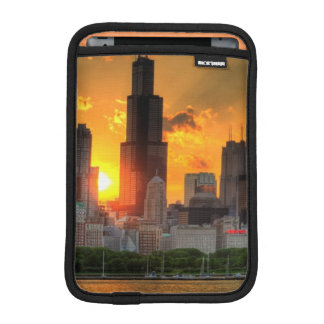 View of Chicago's skyline from  Adler iPad Mini Sleeve