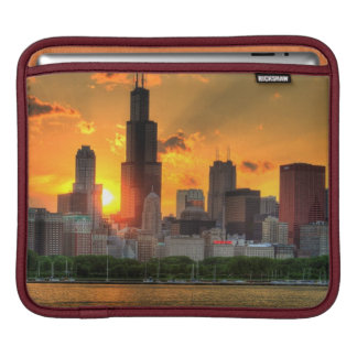 View of Chicago's skyline from  Adler iPad Sleeves