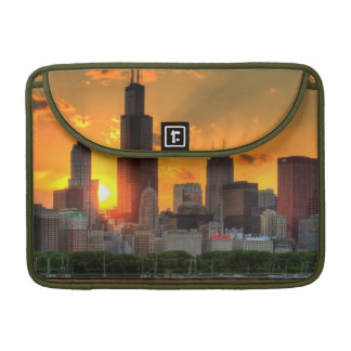 View of Chicago's skyline from  Adler MacBook Pro Sleeves