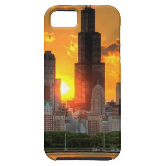 View of Chicago's skyline from  Adler Tough iPhone 5 Case