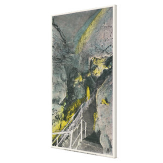 View of Chinese Pagoda in Titan's Temple Canvas Print