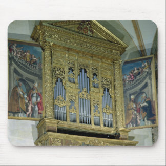 View of church organ, c.1590 mouse mat