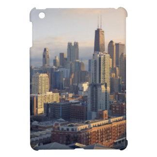 View of cityscape with fantastic light iPad mini case