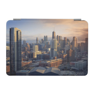 View of cityscape with fantastic light iPad mini cover