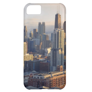 View of cityscape with fantastic light iPhone 5C case