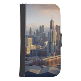 View of cityscape with fantastic light samsung s4 wallet case