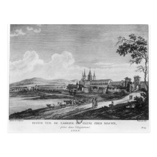 View of Cluny Abbey Post Card