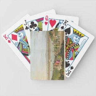 View of Constantinople, plate 1 from 'Views in the Bicycle Playing Cards