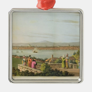 View of Constantinople, plate 1 from 'Views in the Christmas Ornament