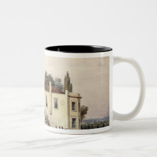 View of Copenhagen House, 1853 Two-Tone Coffee Mug