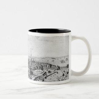 View of Copenhagen Two-Tone Coffee Mug