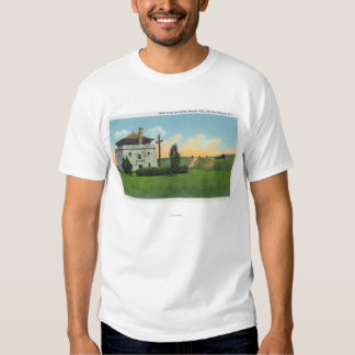 View of Corps de Garde in Old French Castle Tee Shirts