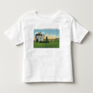 View of Corps de Garde in Old French Castle T Shirts