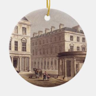 View of Cross Bath, Bath Street, from 'Bath Illust Christmas Ornament