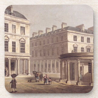 View of Cross Bath, Bath Street, from 'Bath Illust Coaster