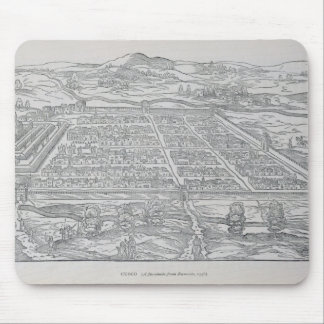 View of Cusco, from Ramusio, pub. 1556 Mouse Mat