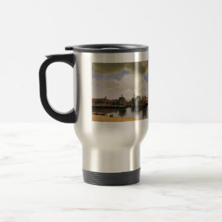 View of Delft by Johannes Vermeer Mug