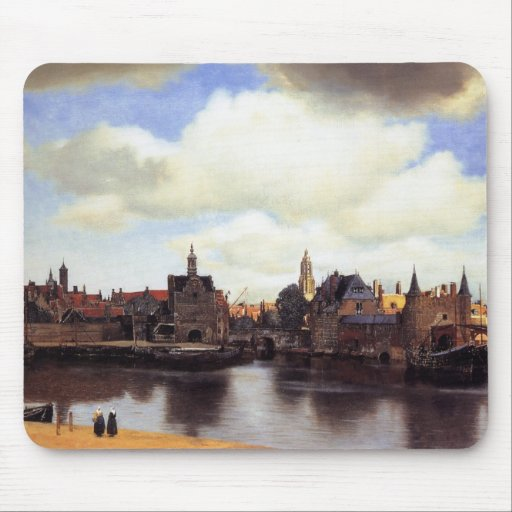 View of Delft Mouse Pads