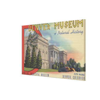 View of Denver Museum of Natural History Canvas Print